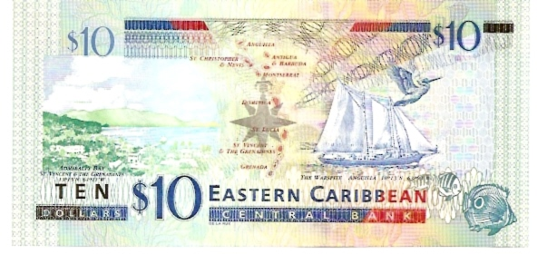 Issued by Central Bank  5 Dollars  ND Issue Maße: 200 X 100, Art: JPEG