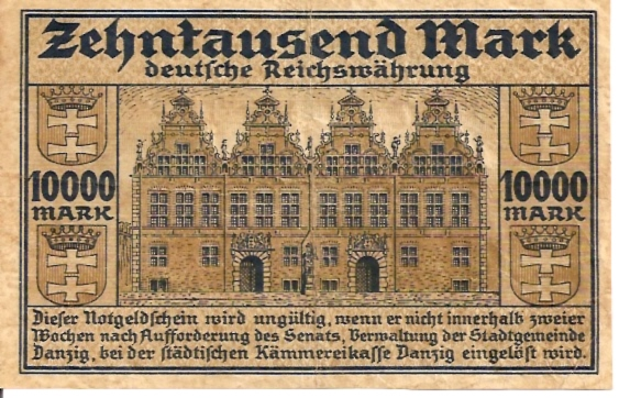 Country does NOT Exist anymore  10000 Mark  Issue Date: May 20 1923 Maße: 200 X 100, Art: JPEG