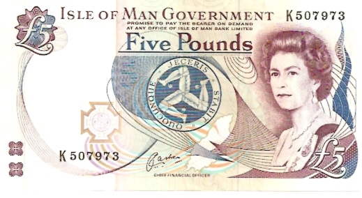 Isle of man Government 5 Pounds ND Issue Maße: 200 x 100 Art: JPEG