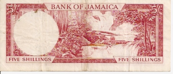 Government of Jamaica  5 Schilling  No Date Issue Maße: 200 X 100, Art: JPEG