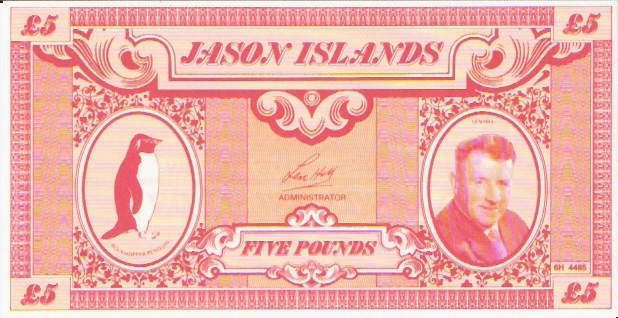 Private Issue  5 Pound  ND Issue  Not a legal tender outside the island Maße: 200 X 100, Art: JPEG