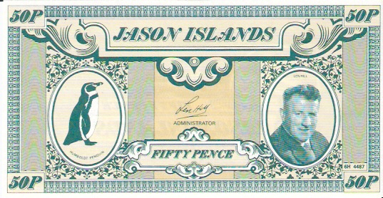 Private Issue  50 Pence  ND Issue  Not a legal tender outside the island Maße: 200 X 100, Art: JPEG