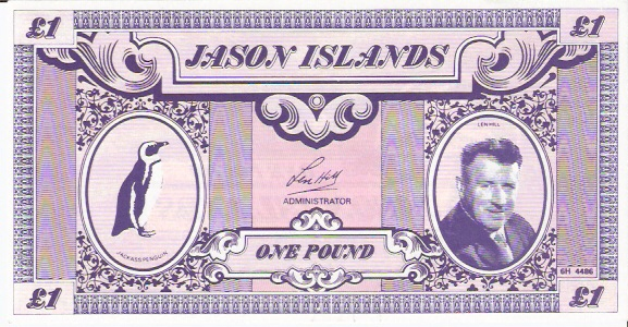 Private Issue  1 Pound  ND Issue  Not a legal tender outside the island Maße: 200 X 100, Art: JPEG